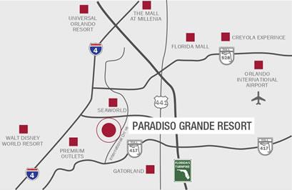 ubicacion paradiso grande resort