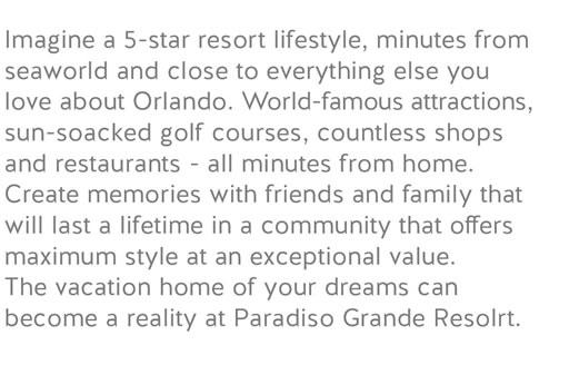 descripcion paradiso grande resort